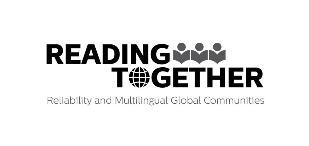 Reading Together Logo by Jessica Tamani (CC BY 4.0).